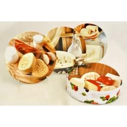Набор из 4-х тарелок «Сыр» 19 см