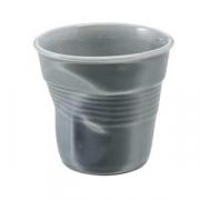 Стаканчик для эспрессо «Фруассэ», фарфор, 80мл, D=65,H=60мм, серый