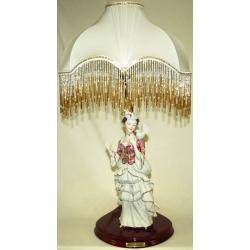 Лампа «Девушка с голубкой « 66 см. (+абажур)