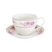 Чашка с блюдцем Нежность