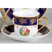 Набор для чая 200 мл. на 6 перс. 12 пред. «Мэри Энн 0179»