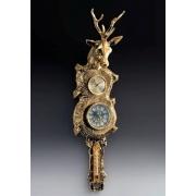 Часы «олень» настенные цвет - золото