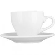 Пара чайная «Коллаж» фарфор; 135мл; белый