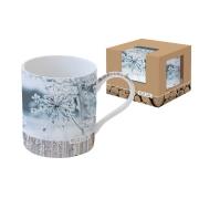 Кружка Ледяной цветок в подарочной упаковке