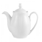 Чайник «Торино вайт», фарфор, 340мл, белый