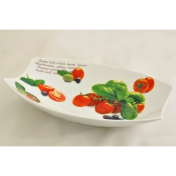 Овальное блюдо «Помидоры» 25х16 см