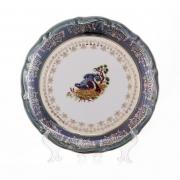 Набор тарелок «Охота зеленая» 24 см. 6 шт.
