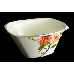 Салатник глубокий 17,5 см «Цветущий мак»