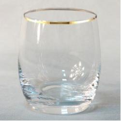 Набор стаканов 1/6 «Идеал» 290 мл; виски; отводка золото