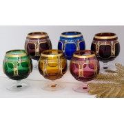 Набор бокалов 250 мл «Арнштадт Антик цветной»