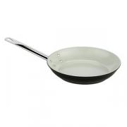 Сковорода, алюмин.,керамика, D=36,H=6см, бежев.,серебрян.