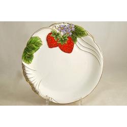 Тарелка «Клубника» 25 см