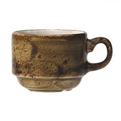 Чашка чайная «Крафт» 200мл фарфор