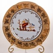 Набор тарелок «Мария - Охота медовая» 21 см.
