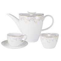 Чайный набор 14 предметов Перламутр
