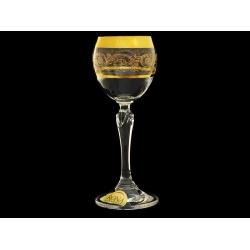 Бокал для вина Золотая коллекция, богатое золото
