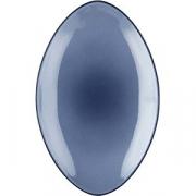 Блюдо овал. «Экинокс» H=4, L=35, B=22.3см; синий
