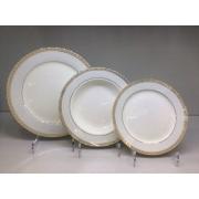 Набор тарелок «Голубая лесенка» на 6 персон 18 предметов