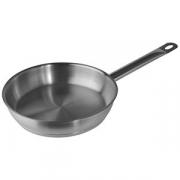 Сковорода, сталь нерж., D=24см