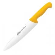 Нож поварской «2900» L=38.7/25, B=5.1см; желт.