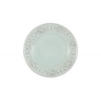 Тарелка закусочная Venice (голубая) без инд.упаковки