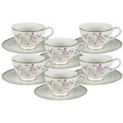 Набор 12 предметов Гармония: 6 чашек + 6 блюдец