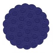 Настол.подкладки синие d=8см 20шт.