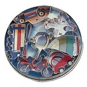 Форма конд. «Машина» [7шт], сталь нерж., D=15,H=2см, металлич.