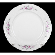 Блюдо круглое 32 см «Роза серая платина 5396021»
