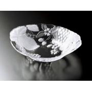 Салатник овальный 36*30 см (матовый) «Кантри Филдз»
