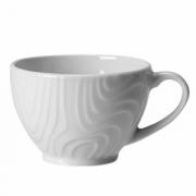 Чашка кофейная «Оптик», фарфор, 85мл, D=65,H=53,L=85мм, белый