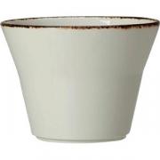Салатник «Браун дэппл» D=14см; белый, коричнев.