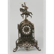 Часы «Всадник» каштан 40х24 см.