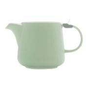 Чайник с ситечком Оттенки (мятный) в индивидуальной упаковке