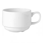 Чашка чайн. «Симплисити вайт» 285мл фарфор