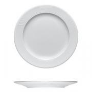 Тарелка мелкая «Карат», фарфор, D=255,H=20мм, белый