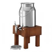 Диспенсер для молока, сталь нерж., 5л, H=41.5,L=22,B=22см