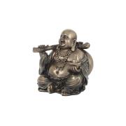 Статуэтка Будда с золотым слитком