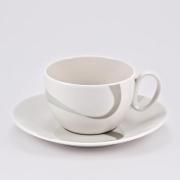 Набор 6 чайных пар «Атласная лента»