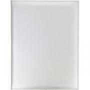 Папка-меню на винтах L=32, B=25см; серебрян.