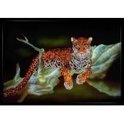 Ягуар,90х65 см, 4520 кристаллов