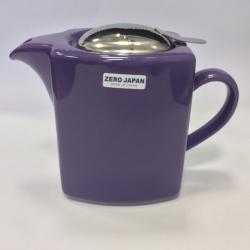 Чайник с ситечком 600мл цвет: Фиолетовый