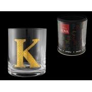 Стакан для виски (1 шт) Азбука Буква «K»