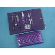 Набор маникюрный 7 пр фиолетовый