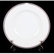 Тарелка глубокая «Медальон Меандр» 22 см.