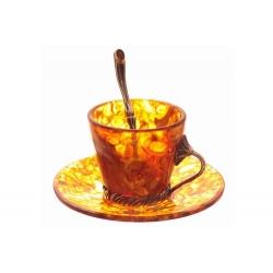 Кофейный набор «Лето» на 6 персон (18 предметов)