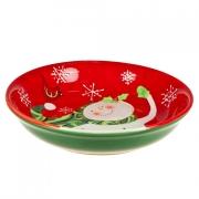 Набор тарелок суповых 23см «Снеговик»