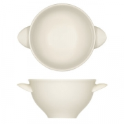 Бульонная чашка «Рафинез», фарфор, 280мл, D=108,H=61мм, белый