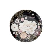 Тарелка Кимоно (чёрный) в подарочной упаковке