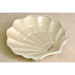 Блюдо-ракушка 13 см «Conchiglia white»